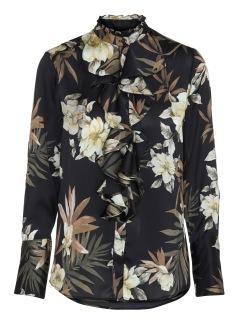 KARMAMIA Stella Shirt - Dahlia Flower - Stella Shirt - Dahlia / S