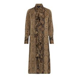KARMAMIA Desert Snake Ruffle Kimono