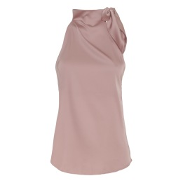 KARMAMIA Ribbon Top – Blush