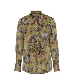 KARMAMIA Stella Shirt - Golden Flower