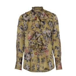 KARMAMIA Stella Shirt - Golden Flower