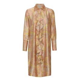 KARMAMIA Medallion Ruffle Kimono (short)