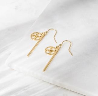 DAILY ELEGANCE Santorini Earrings Gold