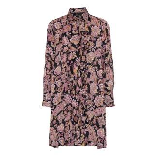 KARMAMIA Ruffle Kimono Dress – Cabaret - Ruffle Dress – Cabaret / S
