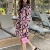 KARMAMIA Ruffle Kimono Dress – Cabaret