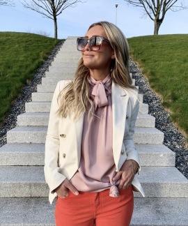 KARMAMIA Eloise Top – Ballet Pink