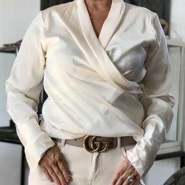 KARMAMIA Billie Shirt – Ivory