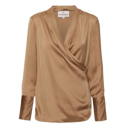 KARMAMIA Billie Shirt – Golden Camel