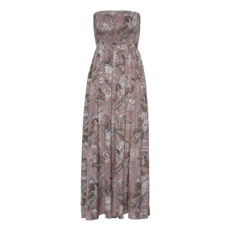 KARMAMIA Juliette Dress - Nude Paisley