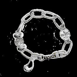 IOAKU SEED SPARKLE BRACELET Silver