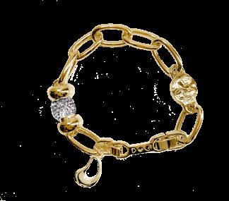 IOAKU SEED MULTI BRACELET Gold -