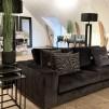 ARTWOOD Senna soffa sammet mörkgrå 3-sits