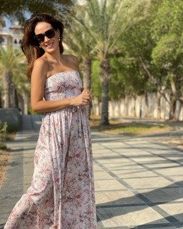 A KARMAMIA Juliette Dress - Blossom Pink