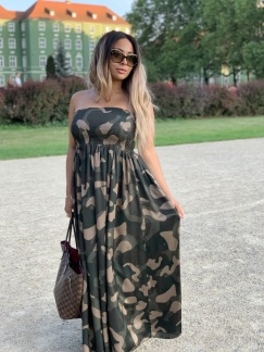 KARMAMIA Juliette Dress - Camouflage
