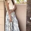 KARMAMIA Ruffle Boheme Skirt – Provence