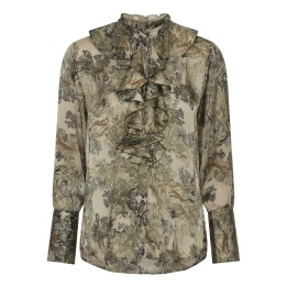 KARMAMIA Stella Shirt - Fawn Forest
