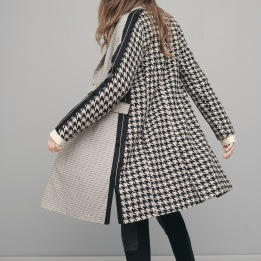 NÜ DENMARK EVI CHECKERED JACKET BLACK MIX