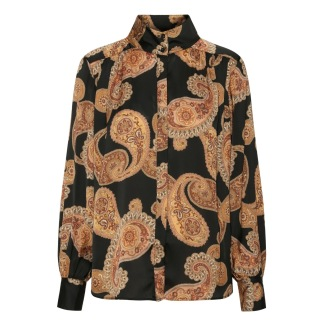 KARMAMIA Noelle Shirt - Grand Paisley