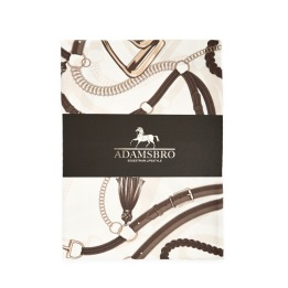 ADAMSBRO Equestrian Hotel Satin Quilt Cover & pillowcase