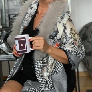 MALA ALISHA SCARF SUPER WOMEN med päls