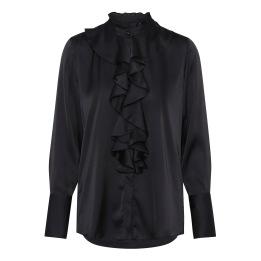 A KARMAMIA Stella Shirt - Black