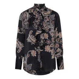 A KARMAMIA Stella Shirt - Pearson Paisley Blue
