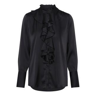 KARMAMIA Stella Shirt - Black