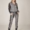 NÜ DENMARK ELINA FAITH TROUSERS RAVEN GREY MIX