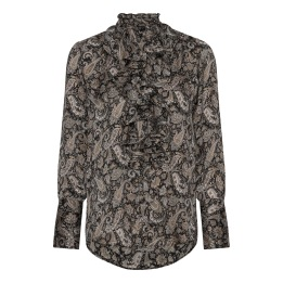 KARMAMIA Stella Shirt – Earth Paisley