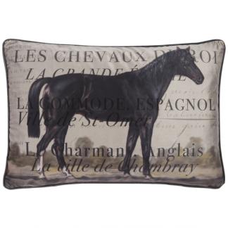 ADAMSBRO Cushion Les Chevaux 60x40 -