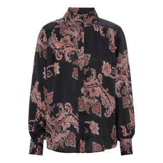 KARMAMIA Noelle Shirt - Pearson Paisley Ruby
