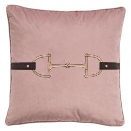 ADAMSBRO Velvet Snaffle Bit Blush Pink