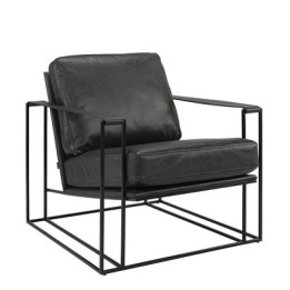 ARTWOOD BELLAGIO LOUNGE CHAIR BLACK