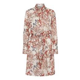 A KARMAMIA Nakita Dress - Melange Ivory