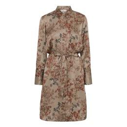 A KARMAMIA Nakita Dress – Melange Taupe