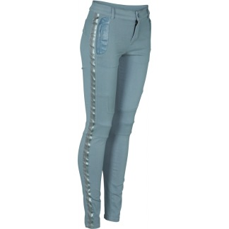 A NÜ DANMARK RAIX ELI POWER STRETCH TROUSERS BLUE FOG