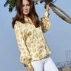 A KARMAMIA Cornelia Shirt - Amber Leo