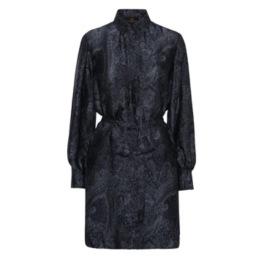 A KARMAMIA Millie Dress - Denim Deco