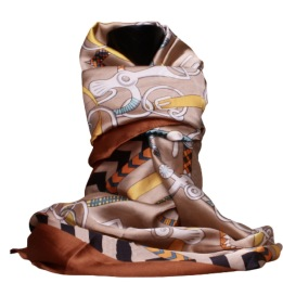 SCARF FANNY Taupe