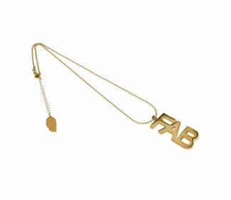 IOAKU FAB NECKLACE GOLD