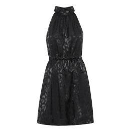 A KARMAMIA Constance Dress – Black Leo