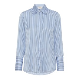 A KARMAMIA Zoe Shirt – Blue Stripe