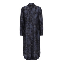 A KARMAMIA Harper Dress – Blue Palma
