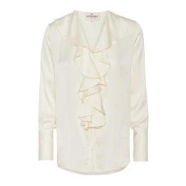 A KARMAMIA Isla Shirt - Off White