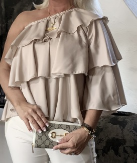 A COSTA MANI Recycle chic shirt