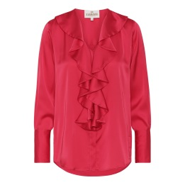 A KARMAMIA Isla Shirt - Deep Pink