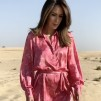 A KARMAMIA Millie Dress - Gardenia Pink
