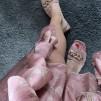 A KARMAMIA Selma Skirt – Gardenia Blush