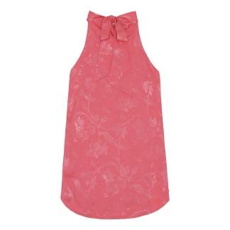 A KARMAMIA Eloise Top – Provence Jacquard Pink