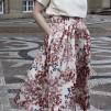 A KARMAMIA Trini Skirt - Melange Ivory